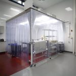 12'x12' HEPA Filtered ISO Class 6 (Fed Std Class 1000) Softwall Cleanroom