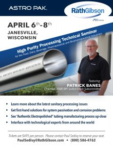 High Purity Processing Technical Seminar